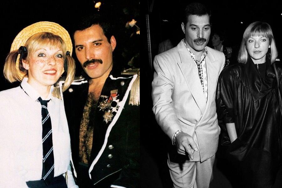 Freddy-Mercury-y-Mary-Austin